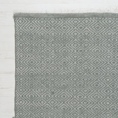 Diamond Rug - Dove Grey