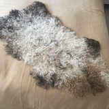 Small Sheepskin, Bench Cover, 75cm, Multi Colour