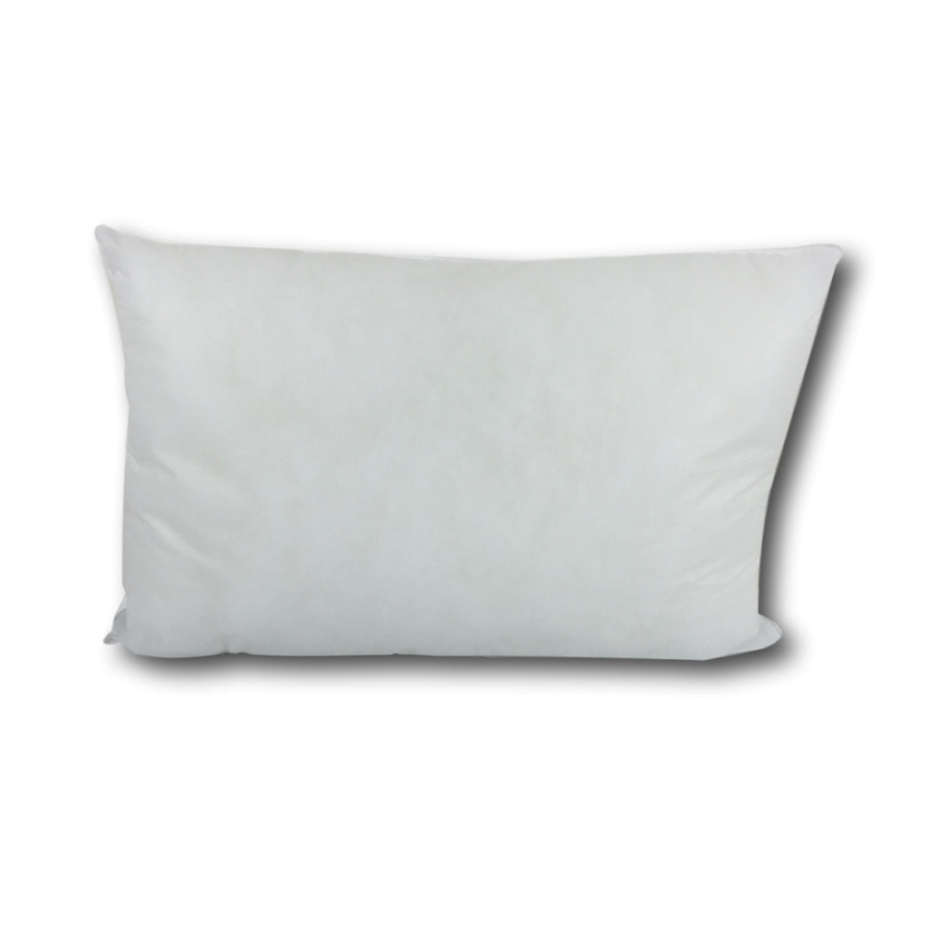 Duck Feather Cushion Cover Pad 25 x 40 cm