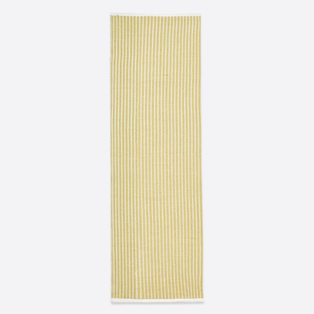 Brighton Stripe Runner Rug - Gooseberry