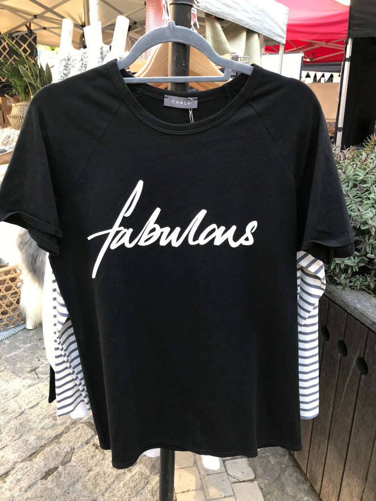 Darcey Fabulous T-Shirt - Black
