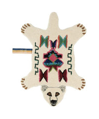Kasbah Polar Bear Rug - Small