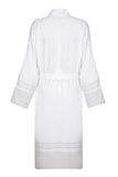 Lightweight Unisex Cotton Robe - Beige
