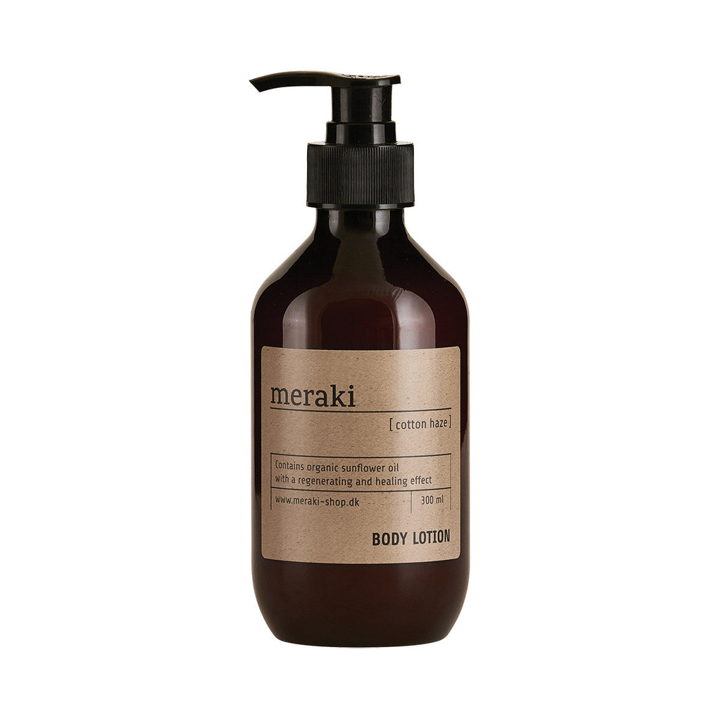 Meraki bodylotion with cotton haze scent