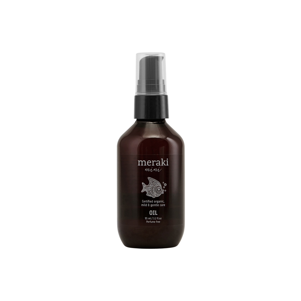 Meraki Mini organic baby oil, 95 ml.