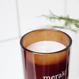 meraki scented candle - Nordic pine (35 hour burn time)