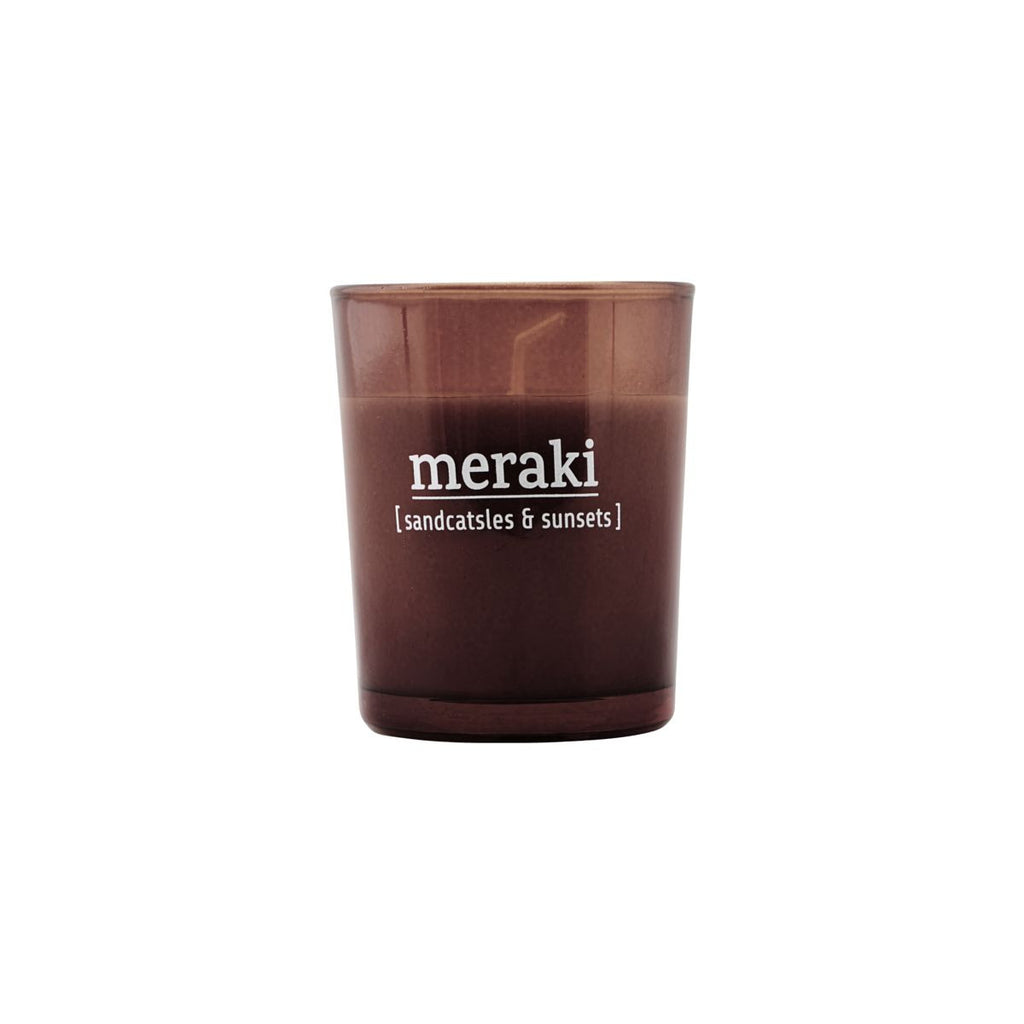 meraki scented candle - sandcastles & sunsets (12 hour burn time)