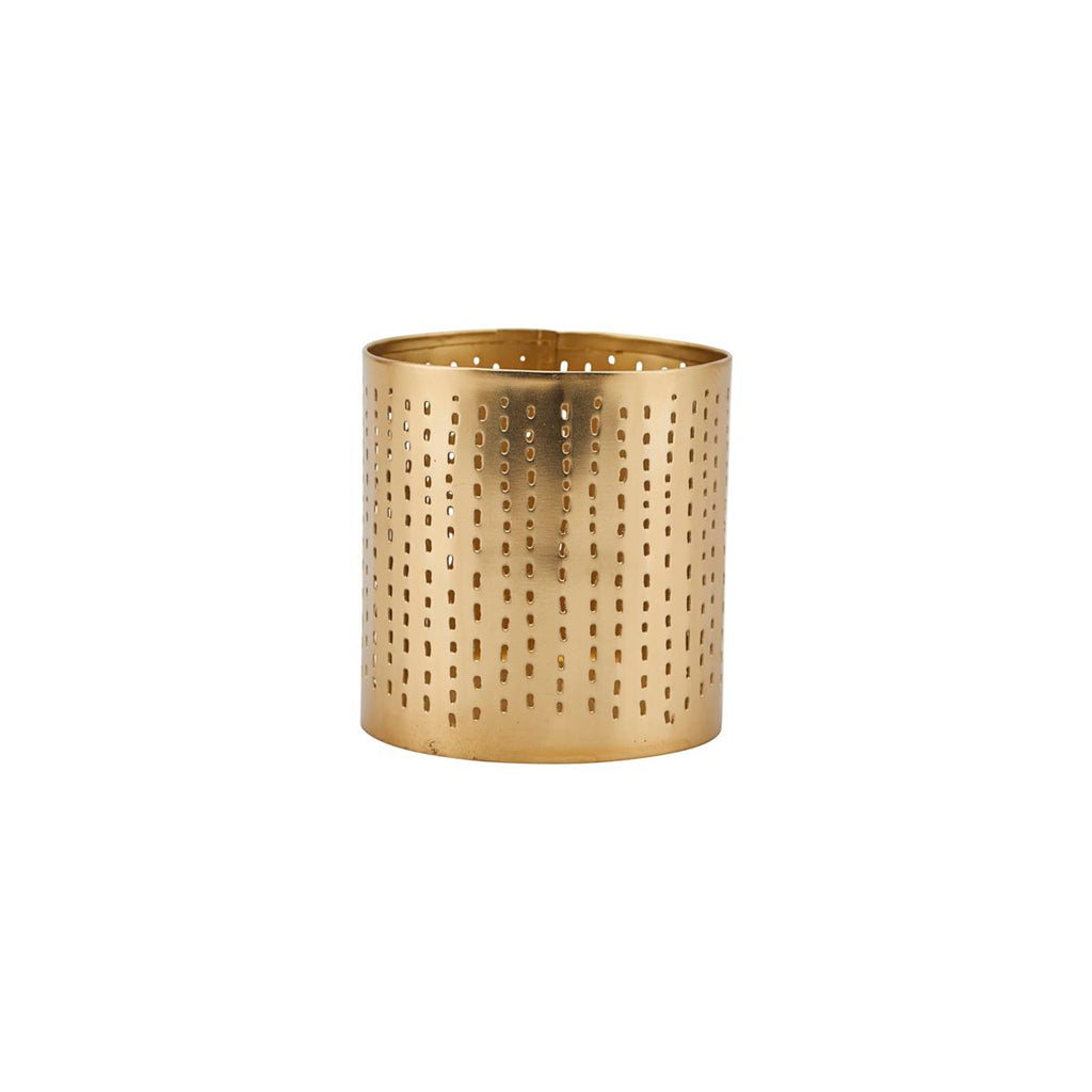 House Doctor Tealight Holder, Brass finish Small