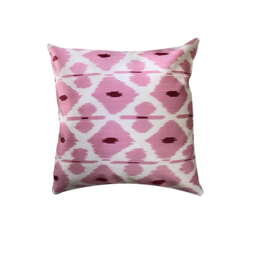 IKAT cushion cover - Baby Pink - 40 x 40 cm