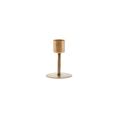 House Doctor Candle Holder, Anit Antique Brass Small