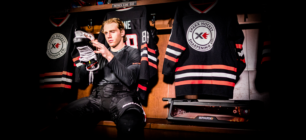 Speed, Control, Performance. How Patrick Kane Has The Edge With Sparx Hockey