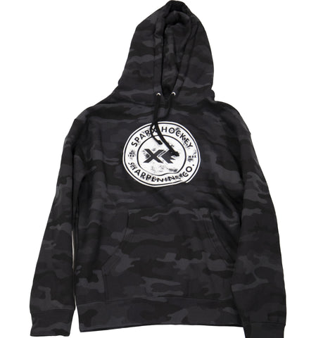 The Trademark Sweatshirt - Black Camo