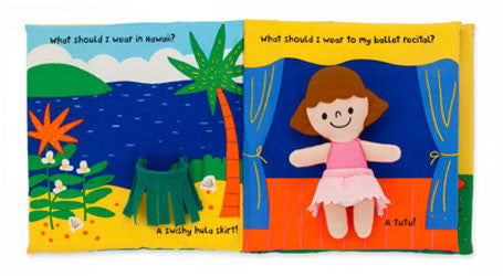 What Should I Wear? Soft Activity Book by Melissa & Doug