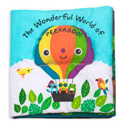 Wonderful World of Peekaboo Soft Activity Book by Melissa & Doug