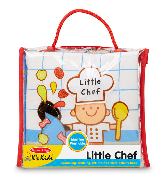 Little Chef Soft Activity Book by Melissa & Doug