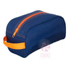 Navy with Orange
