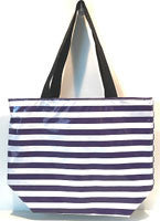 Oilcloth Zip Tote Beach Bag