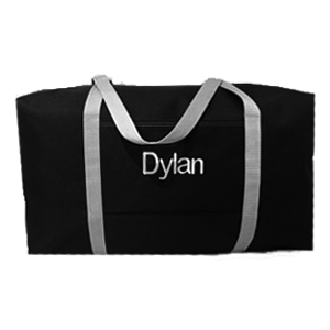Black & Gray Large Duffle