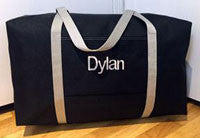 Black and Gray large duffle