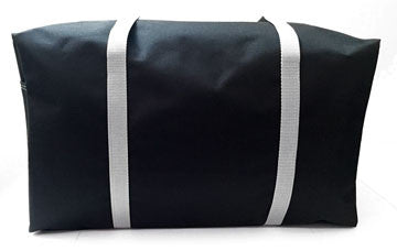 Black and Gray Super Duffle