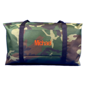 Green Camo Large Duffle