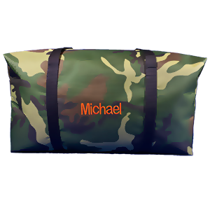 Green Camo Super Duffle