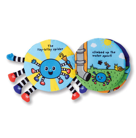 Itsy-Bitsy Spider Soft Activity Book by Melissa & Doug