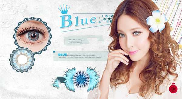 Circle lenses CICI Hee Love - Ice Blue Angel (Blue)