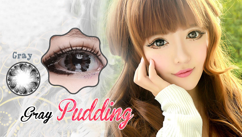 Circle lenses CICI Hee Love - Xiaobuding (Grey)