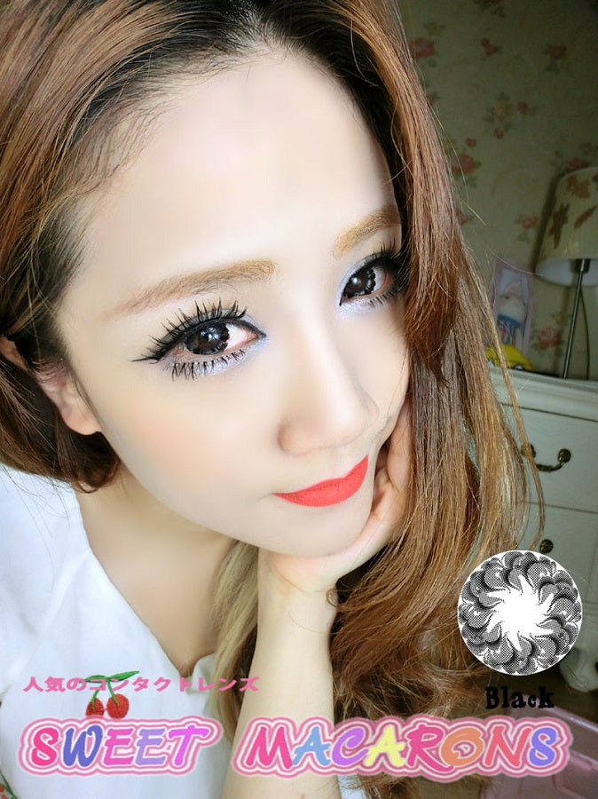 Circle lenses CICI Hee Love - Xiaobuding (Black)