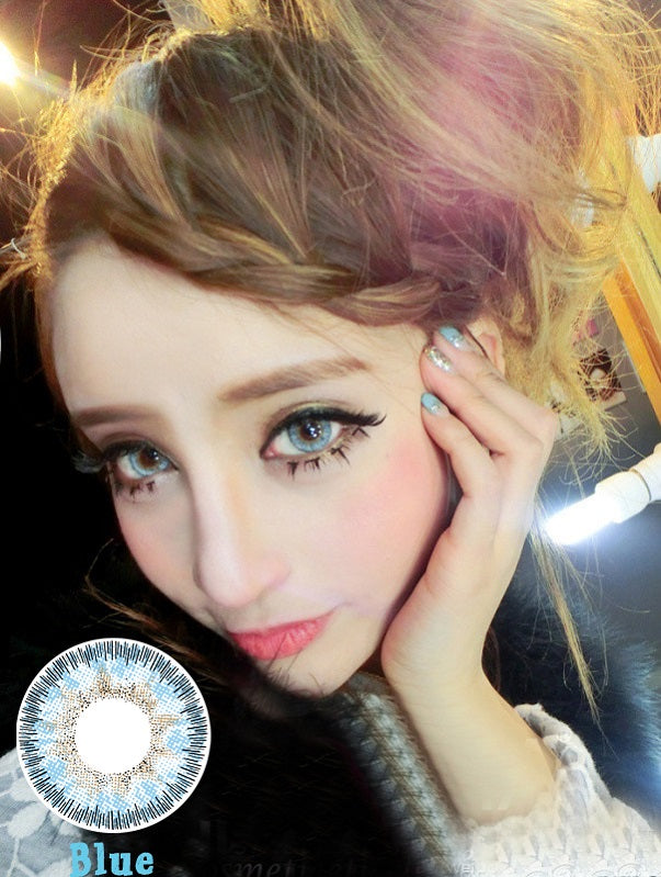 Circle lenses CICI Hee Love - Ice Blue Angel (Brown)
