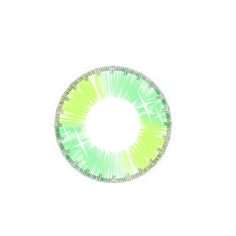 Contact Lenses  CICI Hee Love -   Colorful fruit Qi (Green) - Girlsight  - 1
