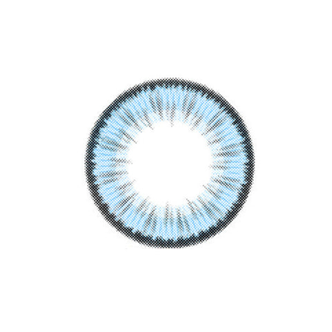 Cosmetic Contact Lenses EYEWISH -Summer Fluorescence (Blue)