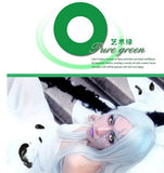 Circle lenses cosplay  -  Pure Green (Green) - Girlsight  - 2