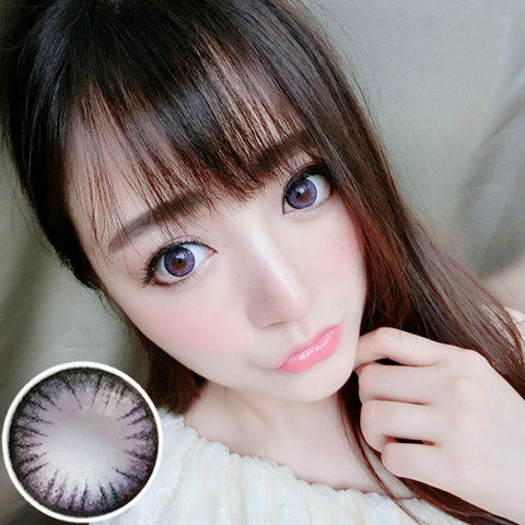 Contact lenses VASSEN- Big Beautiful Eyes ( Purple) - Girlsight