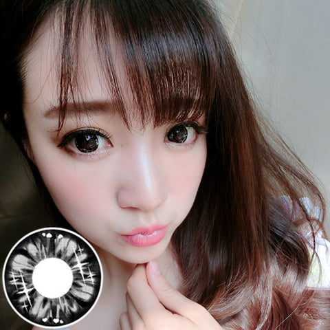 Circle lenses RT Rui pupil -  fruit Qi (Black) - Girlsight