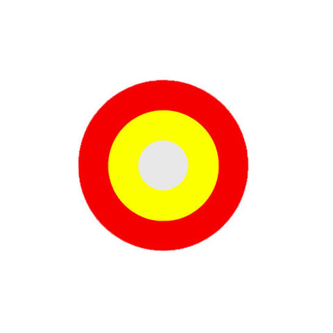 Circle lenses cosplay  -   Red-yellow circle - Girlsight  - 1