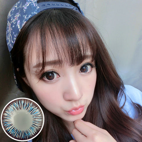 Circle lenses RT Rui pupil -  - Aurora (Blue) - Girlsight