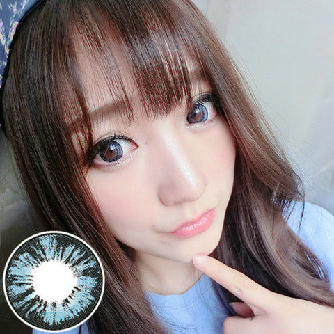 Circle lenses RT Rui pupil -  Diamond Sweetheart (Blue) - Girlsight