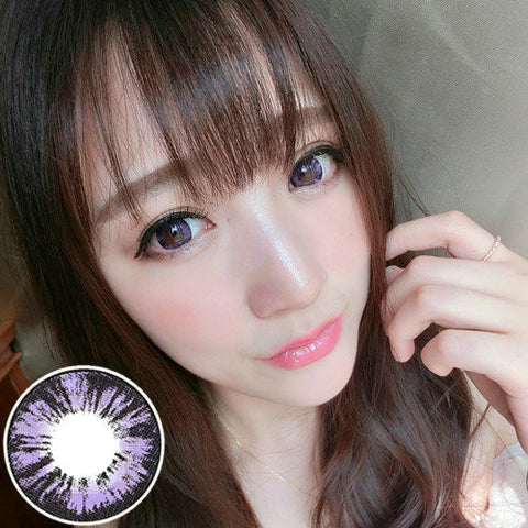 Circle lenses RT Rui pupil -  Diamond Sweetheart (Purple) - Girlsight