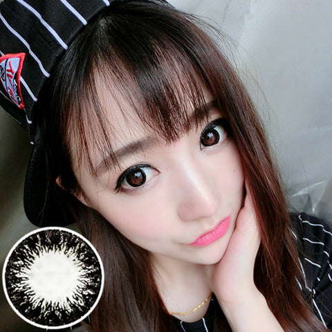 Contact lenses RT Rui pupil - Glow dark forest (Black) - Girlsight