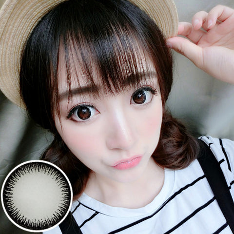 Contact lenses RT Rui pupil - vanilla beautiful eyes (Black) - Girlsight
