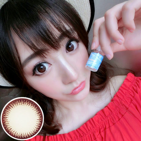 contact lenses RT Rui pupil - vanilla beautiful eyes (chocolate) - Girlsight