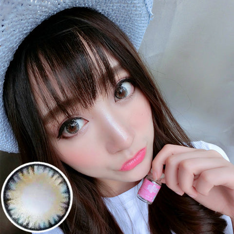 Contact lenses RT Rui pupil - cake four-color (Grey) - Girlsight