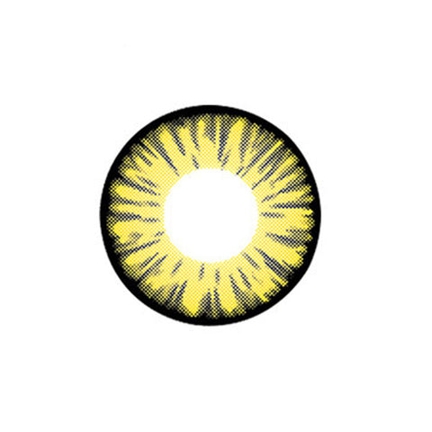 Circle lenses cosplay  -  17set yellow(yellow) - Girlsight  - 1