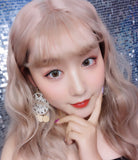 Circle lenses CICI Hee Love -   Sakura empty (Grey)