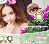 Circle lenses CICI Hee Love -  Pineapple three-color (Green) - Girlsight  - 2
