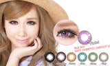 Circle lenses CICI Hee Love - Dandelion (Purple) - Girlsight  - 2