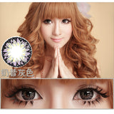 Circle lenses CICI Hee Love -   Rose milkshake (Grey) - Girlsight  - 2