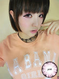 Circle lenses CICI Hee Love - Big Eye Girl (Pink) - Girlsight  - 2